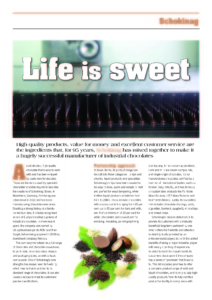 Schokinag_Article_Life_is_sweet_Seite_1